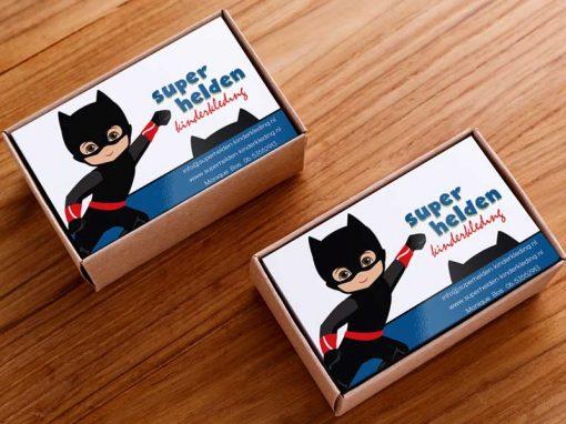 Visitekaartjes – Superhelden Kinderkleding